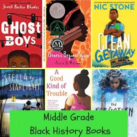 Middle Grade Black History Books